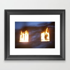 Action Sequence. Framed Art Print