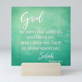 Psalm 61 Mini Art Print