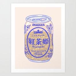 Royal Tea Art Print