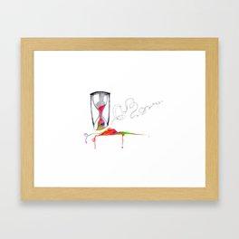 TicTac Framed Art Print