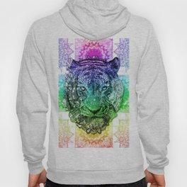 mandala tiger color Hoody