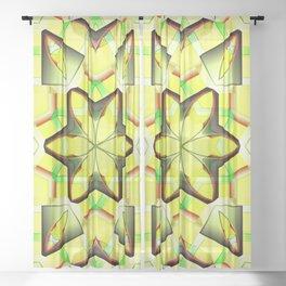 Stella gialla, 2420x Sheer Curtain