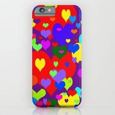 Mille coeurs gais Slim Case iPhone 6s