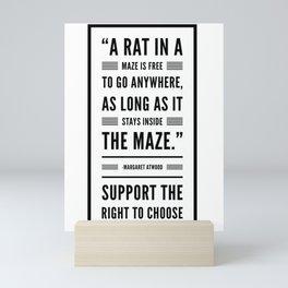 A Rat in a Maze Mini Art Print