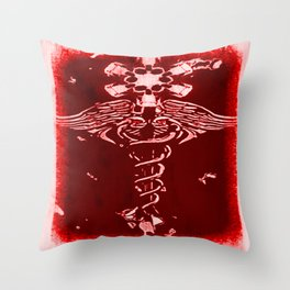 Caduceus - 033 Throw Pillow