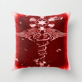 Caduceus - 033 Throw Pillow