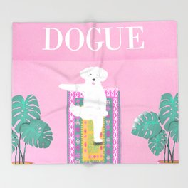 Dogue - Yoga Throw Blanket
