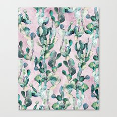 Prickly Pear Patch pt1. Canvas Print