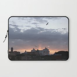 Flying over Rome Laptop Sleeve