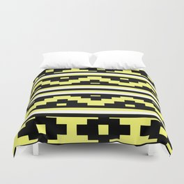 Etnico Yellow version Duvet Cover