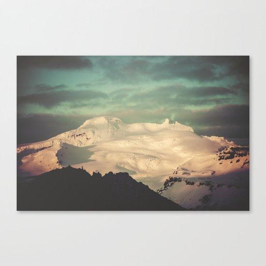 Sunset Mountains II Canvas Print