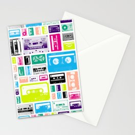 Mix Tapes Stationery Cards