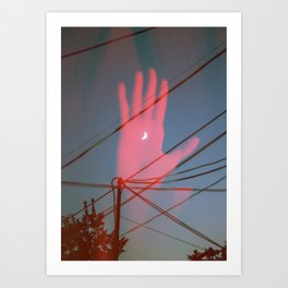 Red Right Hand Art Print