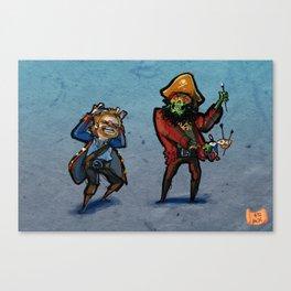 Use Verb on Noun #32: Monkey Island 2: LeChuck's Revenge Canvas Print