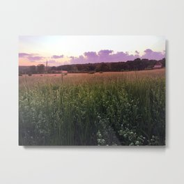 New England Golden Hour Metal Print
