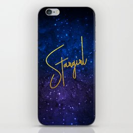 Stargirl Galaxy iPhone Skin