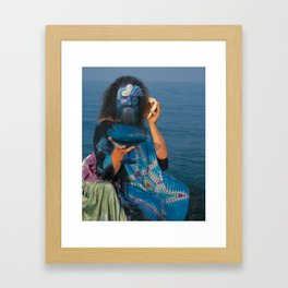 The Man of Cups Framed Art Print