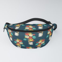 Hedgehog with flowers Fanny Pack