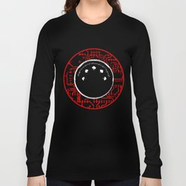 environmental sound collapse - MIDI/circuit board Long Sleeve T-shirt