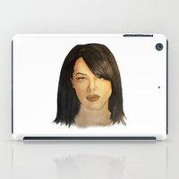 aaliyah iPad Cases featuring Aaliyah by Nina Bryant Studio