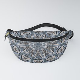 Floral explosion mandala for rejuvenation Fanny Pack