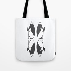 foxy reflected Tote Bag