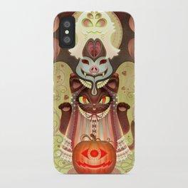 Trick-or-Treat Totem iPhone Case