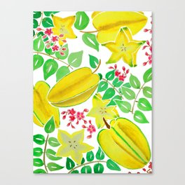Starfruit Season Canvas Print