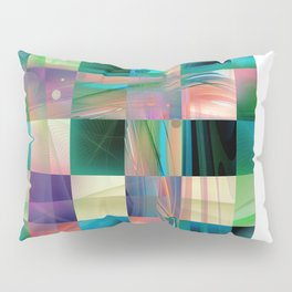 Abstract Exclusion Pattern Pillow Sham