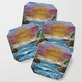 """""""Somewhere Sunset"""" Coaster"""
