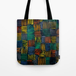 Bold, Rhythmic Color Tote Bag