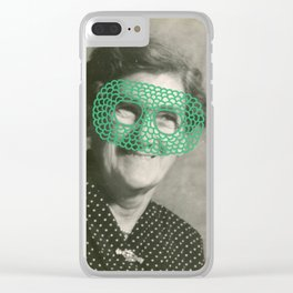 The Crochet Family 003 Clear iPhone Case