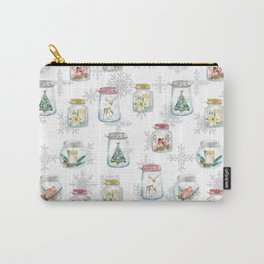 Christmas glass jars Carry-All Pouch