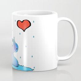 Cute Monster and Love Coffee Mug
