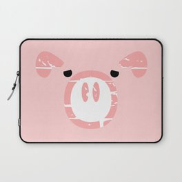 Cute Pink Pig face Laptop Sleeve