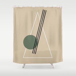 Merry Minimal 02 #society6 #xmas Shower Curtain