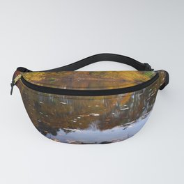 Photography Autumn Pond Reflections Fanny Pack