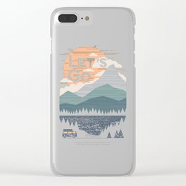 Let's Go Shirt Clear iPhone Case