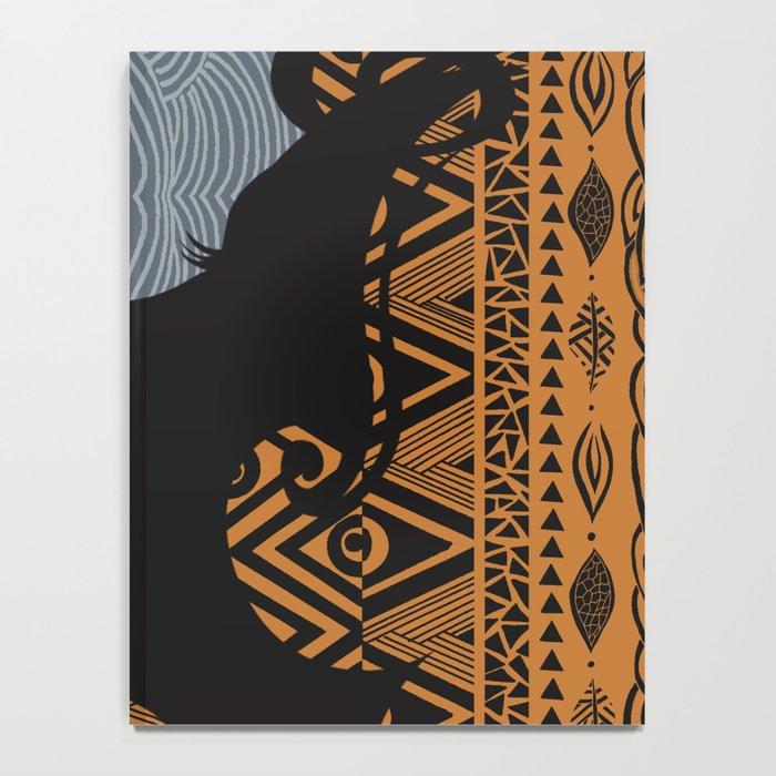 Tribal Dreams by Viviana Gonzalez & Pom Graphic Design Notebook