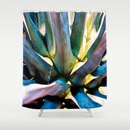 Blue Agave Shower Curtain