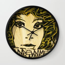 Donna Summers Wall Clock