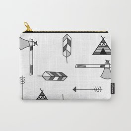 Pattern: Indian icon Carry-All Pouch