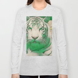 Green Tiger Long Sleeve T-shirt
