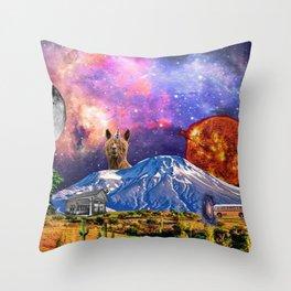A Remote Wonderland Throw Pillow