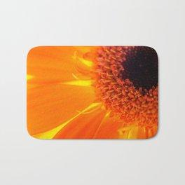 Orange Daisy Bath Mat