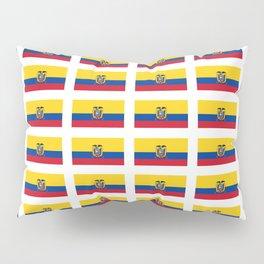 Flag of Ecuador 2- Ecuadorian,Kichwa,Inca,Guayaquil,Quito Pillow Sham