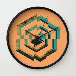 Discontent Wall Clock