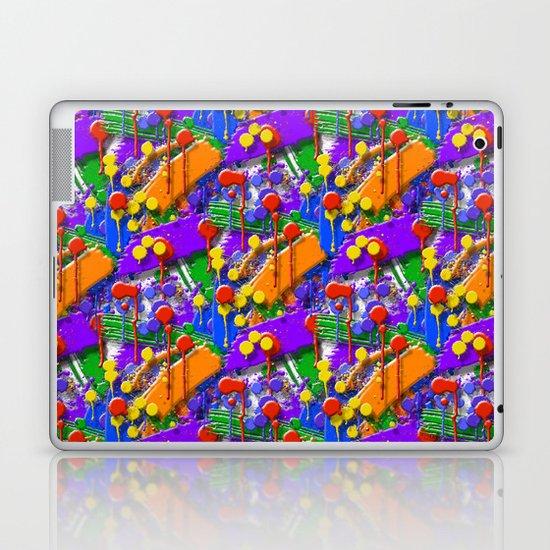 The Big O (Drip Porn Pattern) Laptop & iPad Skin