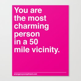 Most Charming Canvas Print
