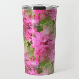 Azaleas in Pink... Travel Mug